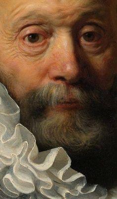 Portrait of Johannes Wtenbogaert (detail) - Rembrandt