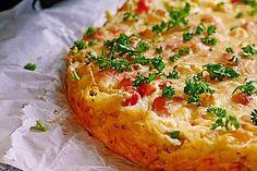 Pikanter Kartoffelkuchen