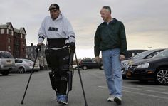 Veteran Affairs to pick up the tab for paralyzed vets' robotic legs When the US Department of Veteran Affairs paid for Retired US Army Sergeant Theresa Hannigan's ReWalk exoskeleton it also decided to pick up the tab for other vets. Now the agency has made it official: it has recently sent out a memorandum that outlines its plans to train staff in a dozen centers -- though there are plans to expand even further in the future -- to be able to fit more paralyzed veterans with ReWalk. The…