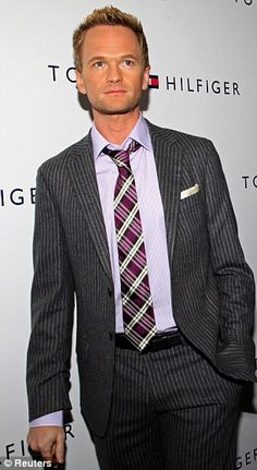 Neil Patrick Harris Man Candy Monday, Chris Meloni, Neil Patrick Harris, Man Clothes, Hugh Laurie, Patrick Dempsey, Himym, How I Met Your Mother, Influential People