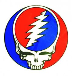 GRATEFUL DEAD STEAL YOUR FACE EXTRA LARGE STICKER