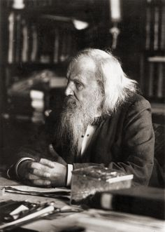 March Dmitri Mendeleev presents his periodic table to the Russian Chemical Society. Dmitri Mendeleev was a Russian chemist and, from 1865 to a professor at the Saint Petersburg State. Lionel Groulx, Atomic Number, Rare Photos, World History, Old Pictures, Science Nature, Science Geek, Physical Science, Science Art