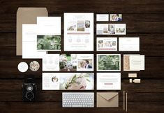 Photographer Marketing Set Templates by Design by Bittersweet on @creativemarket