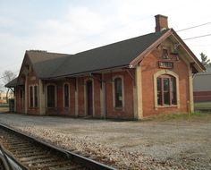 This train depot, now a railroad museum, played a very important role in American and even world history. Abandoned Mansions, Abandoned Houses, Abandoned Places, Abandoned Castles, Abandoned Train Station, Old Train Station, Train Stations, Steel Carports, Old Trains