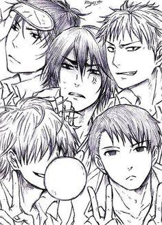 Kirisaki Daiichi~ sketch by Reyos-Cheney
