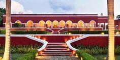 hacienda uayamon campeche - Buscar con Google Mansions, House Styles, Google, Outdoor Decor, Home Decor, Haciendas, Decoration Home, Manor Houses, Room Decor