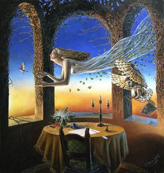 Sense Of the Night II, 2007 by Michael Cheval