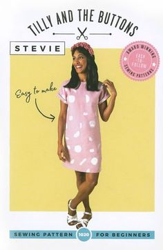 Tilly and the Buttons Stevie Tunic Tunic Pattern, Top Pattern, Dress Tutorials, Sewing Tutorials, Bettine Dress, Clothing Patterns, Sewing Patterns, Tilly And The Buttons, Dungaree Dress