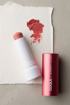 """These Are The BEST Beauty Products At Anthropologie #refinery29  http://www.refinery29.com/anthropologie-beauty-makeup-products#slide-8  Your lips are easy to neglect when it comes to sun protection. That's why we always have a tinted, SPF-packed balm like this one (it has SPF 30) on hand.Coola Liplux Lip Balm in Summer Crush, $18, available at <a href=""""https://www.anthropologie.com/shop/coola-liplux?category=beauty-shop-all&color=06..."""