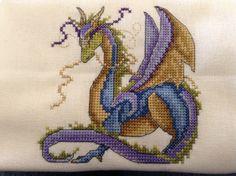 Dragon, pattern by Joan Elliott