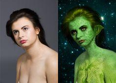 make yourself alien