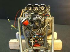 Engine model.