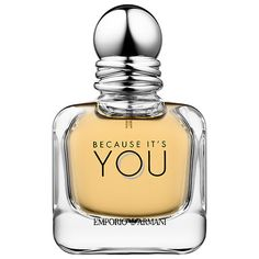 2597219a1eac Shop EMPORIO ARMANI Because It s You by Giorgio Armani at Sephora. This  flirty fragrance offers notes of raspberry, rose absolute, and vanilla bean.