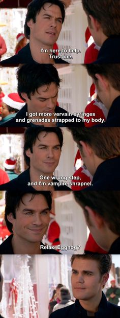 The Vampire Diaries TVD 7X09 - Damon and Stefan