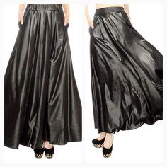 Black & white maxi skirt Shannasthreads.com ( Instagram ...
