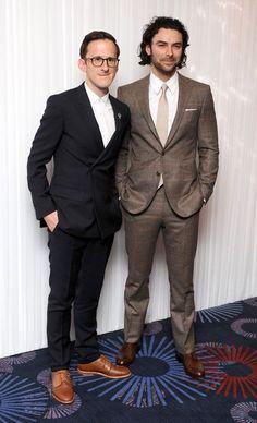 Adam Brown and Aidan Turner