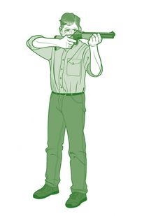 How to Shoot a Rifle Off-Hand