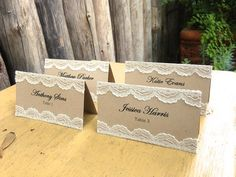 if you do placecards....and could do your colors...Navy with white letters and…
