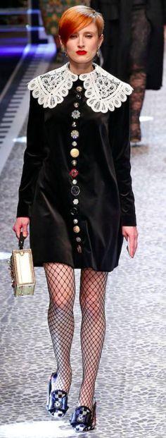 Dolce&Gabbana Outono inverno 2017/18 MFW