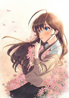 So beautiful anime girl