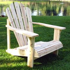 Shine Company Inc. Westport Adirondack Chair Finish: Natural