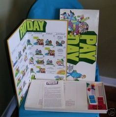 70s toys | Pay Day board game | 60s & 70s Toys