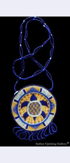 Quill & Bead Work | Turtle Amulet Necklace | Indian Uprising **Jackie Larson Bread** Blackfeet