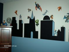 My son's Superhero Room - Boys' Room Designs - Decorating Ideas - HGTV Rate My Space
