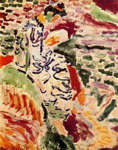 """Matisse: """" La Japonesa al borde del agua"""", 1905"""