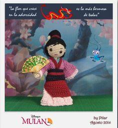 #amigurumi Mulan
