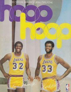 Magic and Kareem - LA Lakers