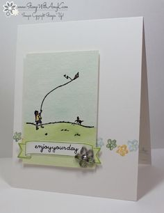 Stampin' Up! Happy Home Quick Watercolor Card – Stamp With Amy K