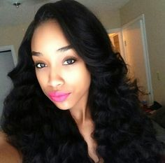 Russian #DeepBodyWave  Beautiful. Russian hair is another beautiful texture available in hair extensions.