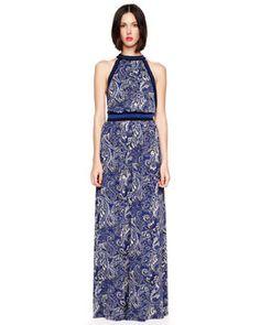 12 breezy transitional looks from Michael Kors Blue Fashion, Womens Fashion, Dresses 2013, Michael Kors Crossbody, Paisley Print, Pretty Dresses, Fashion Forward, Designer Dresses, Cool Outfits