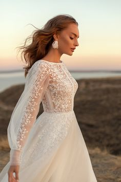 Boho Chic Wedding Dress, Wedding Dress Sleeves, Modest Wedding Dresses, Bridal Dresses, Wedding Gowns, Lace Wedding, Muslimah Wedding Dress, Long Sleeve Wedding, Wholesale Wedding Dresses