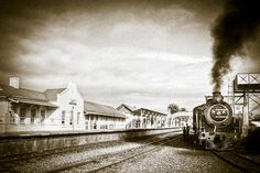 South African Railways, Knysna, Train Station, Back In The Day, Cape Town, Beautiful Gardens, Past, Explore, History