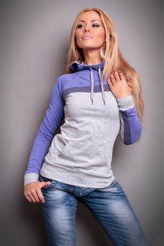 Pulover Erry Sublevel Long Grey - Bluze dama - Erry.ro