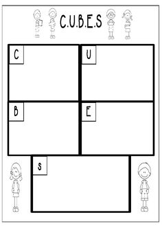 Problem solving mat for C.U.B.E.S problem solving strategy. This can be downloaded for free at http://www.teacherspayteachers.com/Product/CUBES-Problem-Solving-Checklist-and-Problem-Solving-Mat-856918
