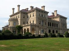 head to newport for haunted mansions. the ghost of alice is said to frequent the third floor of the breakers. #haunted #halloween