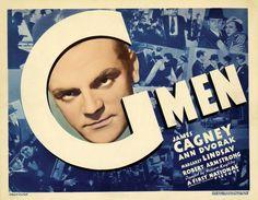 James Cagney, Robert Armstrong, Ann Dvorak, Margaret Lindsay, and Lloyd Nolan in 'G' Men (1935)