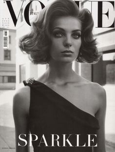 Daria Werbowy for Vogue Italia, October 2003 Photographed by: Steven Meisel.