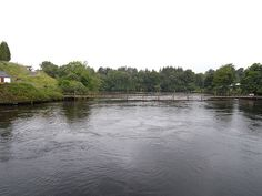 River Erne at Belleek  The River Erne, Ireland's second largest river, on its final run to the sea below Belleek Bridge. Northern Ireland to the right, Republic of Ireland to the left.