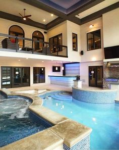 Nowadays, An Indoor Pool Is Often Considered To Be A Luxury And Yet They  Are Quite Popular In Many Homes. The Best Advantage Of The Indoor Swimming  Pool Is