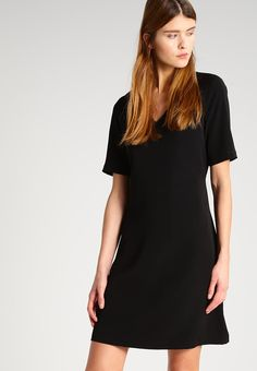 Selected Femme SFNILAM - Sukienka letnia - black - Zalando.pl