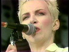 Eurythmics - Sweet Dreams [Live 1988]  Incredible voice, powerful song, an influence and inspiration in my #writing of All the Pretty Bodies.  Annie Rocks!