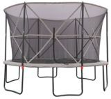 Outbound Oval Trampoline with Safety Enclosure, 13-ft | Canadian Tire