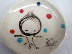 Mini Drawing Plate no.5 by KoideStudio on Etsy