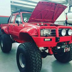 . Toyota Pickup 4x4, Toyota Trucks, Lifted Trucks, Truck Mods, Car Mods, Toyota Hilux, Toyota Tacoma, Custom Tacoma, Pick Up 4x4