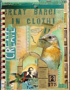 Altered Book Art | create | Art Journaling & Altered Books