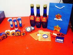 Kit Personalizado Tema: Coroa, Realeza ou Príncipe ♥